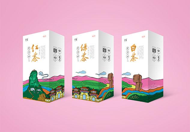 芽旋茶叶品牌全案设计