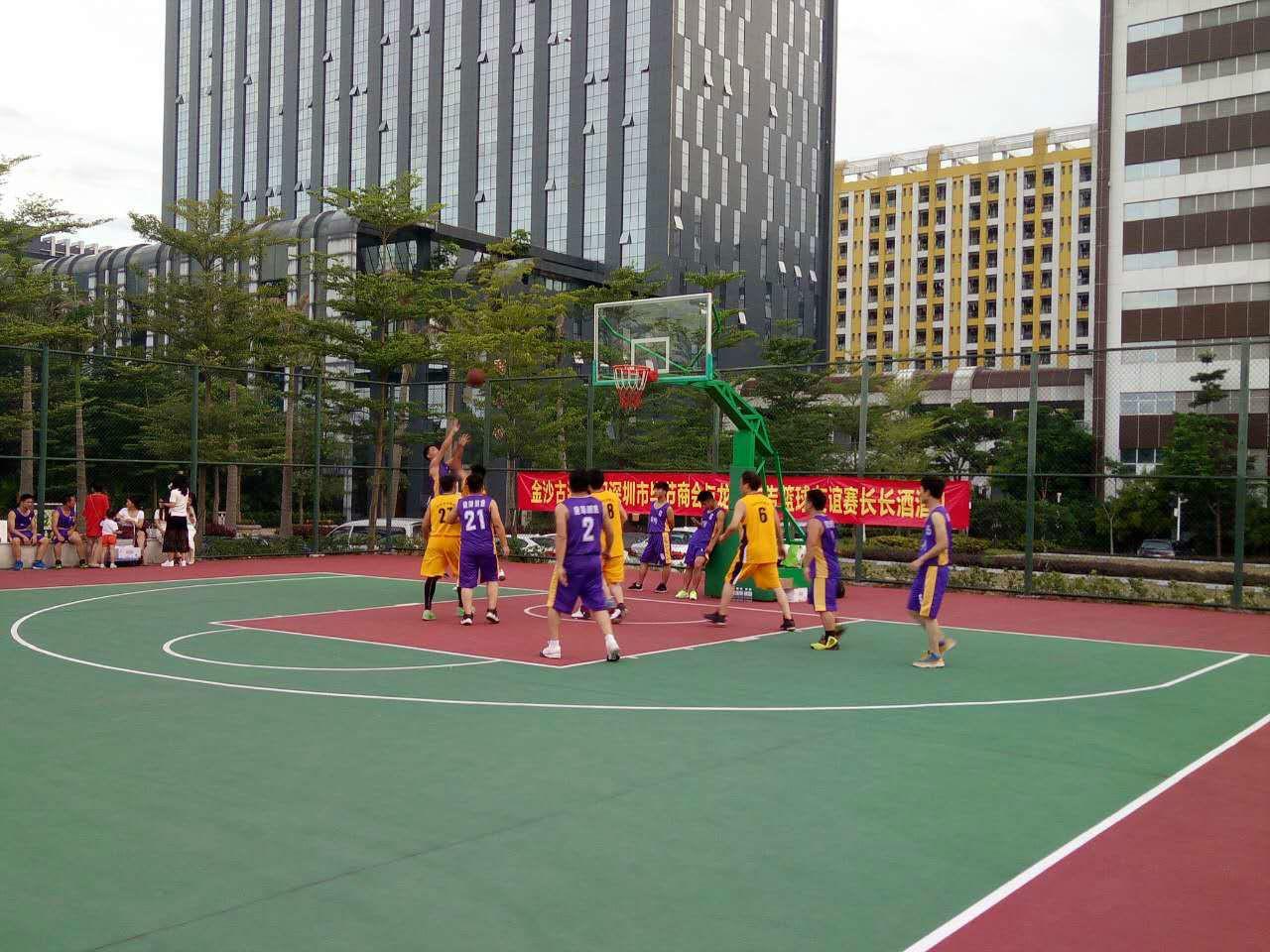 龙师动态|龙师广告VS深圳市贵州毕节商会篮球友赛