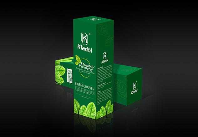 Kladol 空气清新剂包装设计