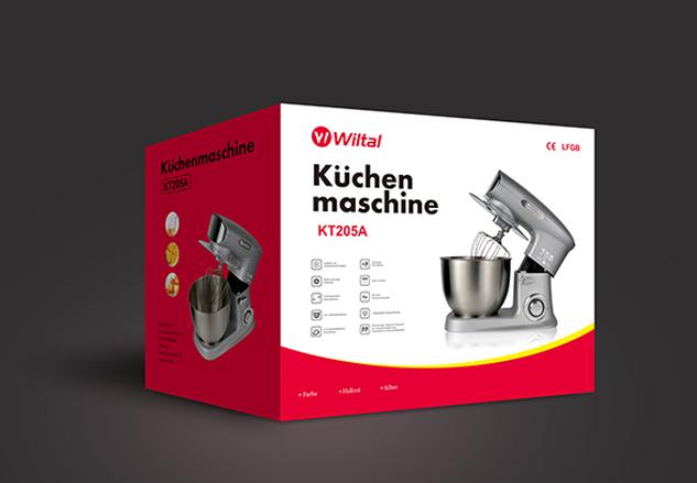 厨师机包装